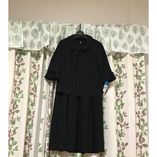 シマムラ(しまむら)のブラックフォーマルアンサンブル 13号 夏用(礼服/喪服)