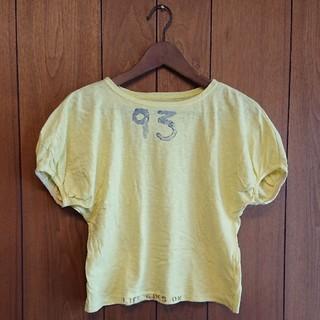 ゴートゥーハリウッド(GO TO HOLLYWOOD)のgo to hollywood 140 イエローパフスリーブTシャツ(Tシャツ/カットソー)