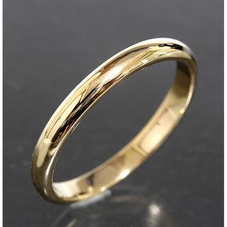 ティファニー(Tiffany & Co.)のティファニー TIFFANY&CO.シンプル リング 22号 K18YG(リング(指輪))