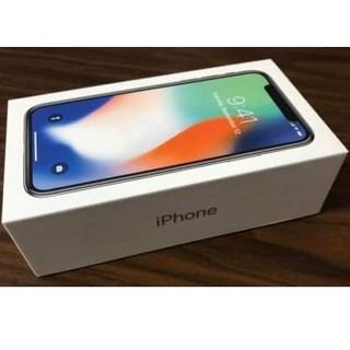 アイフォーン(iPhone)のiphone x 64g black シムがfreeです。(携帯電話本体)