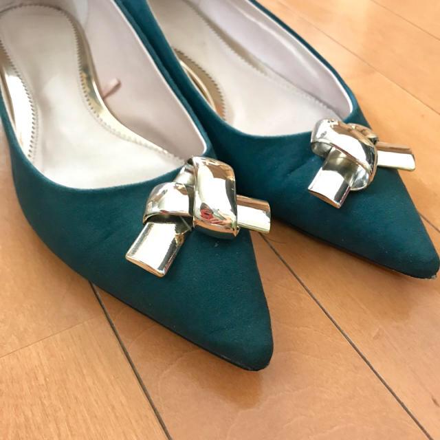 ZARA(ザラ)の最終お値下げ ZARA パンプス 37 レディースの靴/シューズ(ハイヒール/パンプス)の商品写真