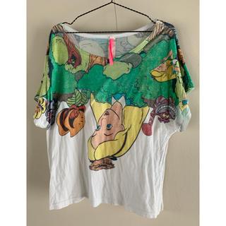 アチャチュムムチャチャ(AHCAHCUM.muchacha)のあちゃちゅむムチャチャ ディズニー 不思議の国のアリス コラボ Tシャツ(Tシャツ(半袖/袖なし))