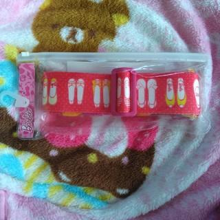 バービー(Barbie)のバービー スーツケースベルト(旅行用品)