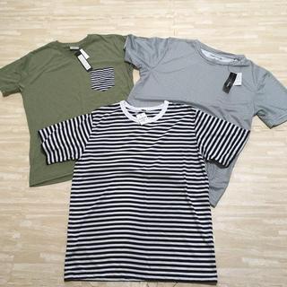 シマムラ(しまむら)の新品タグ付き しまむらTシャツ 3枚セット(Tシャツ/カットソー(半袖/袖なし))