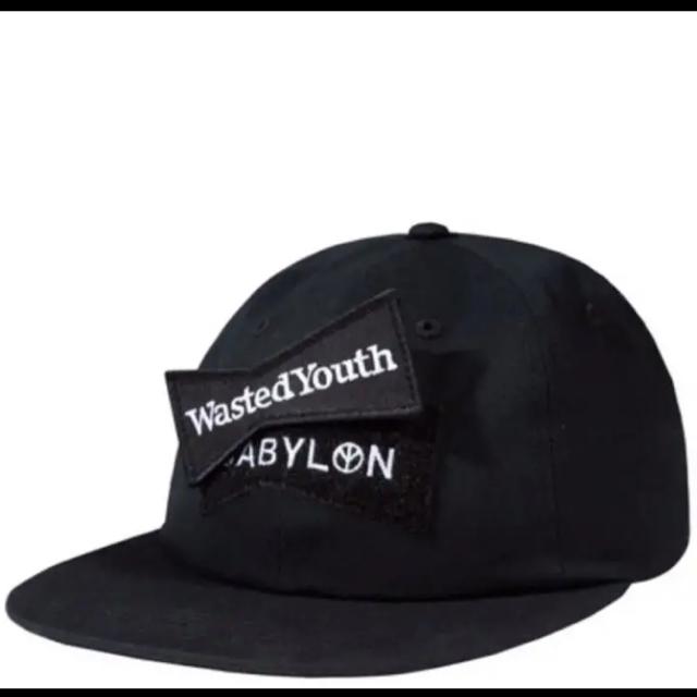 BABYLONE(バビロン)のwasted youth Babylon キャップ メンズの帽子(キャップ)の商品写真