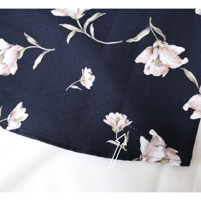 しまむら(シマムラ)の花柄トップス レディースのトップス(シャツ/ブラウス(半袖/袖なし))の商品写真
