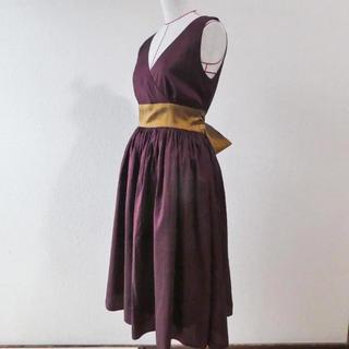 9b0d6be1a14 ジムトンプソン(Jim Thompson)の高級タイシルク ドレス (定価35000円)(