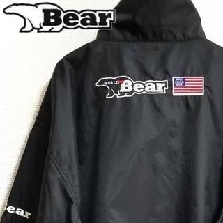 アディダス(adidas)のWORLD BEAR USA 刺繍ロゴ ナイロンジャケット コーチジャケット  (ナイロンジャケット)