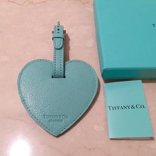 ティファニー(Tiffany & Co.)の新品 ティファニー Tiffany ラゲージタグ ネームタグ ハート ブルー(旅行用品)