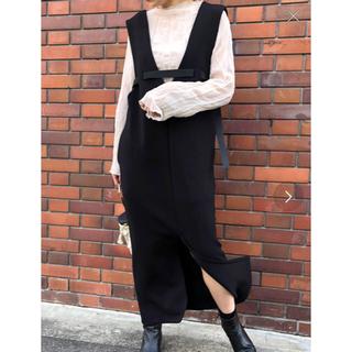アメリヴィンテージ(Ameri VINTAGE)の【Eimee Law】ボンディングジャンパースカート(その他)