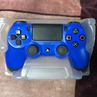 PlayStation4 - PS4 コントローラー DUALSHOCK4 デュアルショック ブルー 純正品