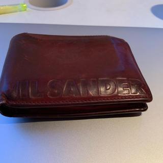 ジルサンダー(Jil Sander)の【JIL SANDER】【未使用】財布(折り財布)