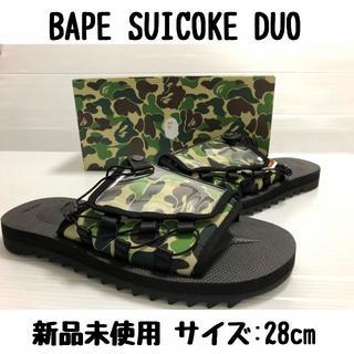アベイシングエイプ(A BATHING APE)のBAPE SUICOKE DUO 28cm us10 ape サンダル エイプ (サンダル)