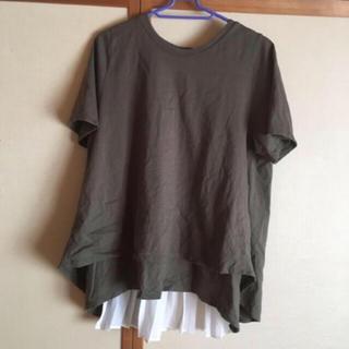 スタディオクリップ(STUDIO CLIP)のスタジオクリップ  バックプリーツTシャツ(Tシャツ(半袖/袖なし))