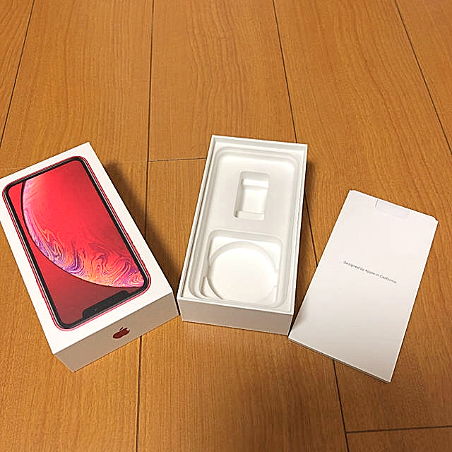 ぬいぐるみ ケース 、 iPhone - iPhone XR空箱 赤の通販 by 断捨離ママ|アイフォーンならラクマ