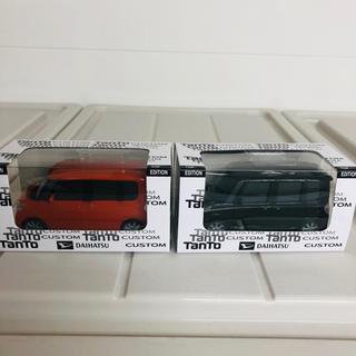ダイハツ(ダイハツ)のダイハツ タントカスタム プルバック  新品未使用 ディーラー 特注 2色セット(ミニカー)