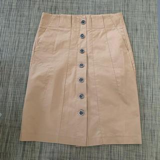 ザラ(ZARA)のタイトスカート ZARA basic ザラ ベーシック(ひざ丈スカート)