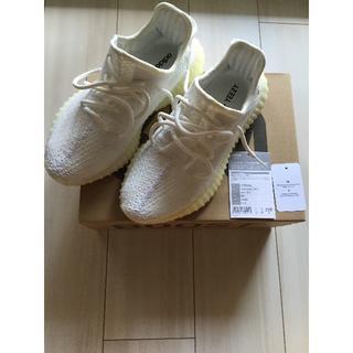 アディダス(adidas)のYeezyboost 350 v2 white 23.5 イージーブースト 白(スニーカー)
