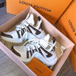 ルイヴィトン(LOUIS VUITTON)のLV アークライト スニーカー36 美品 ルイヴィトン(スニーカー)
