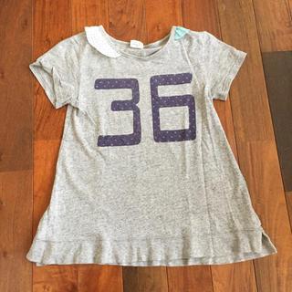 エフオーキッズ(F.O.KIDS)のF.O.KIDS  襟付きTシャツ グレー140(Tシャツ/カットソー)