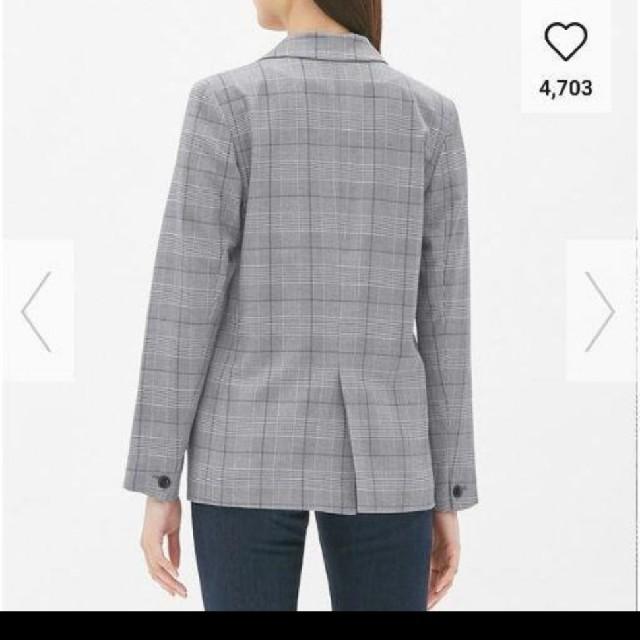GU(ジーユー)の新品タグつきgu テーラードジャケットsサイズ レディースのジャケット/アウター(テーラードジャケット)の商品写真