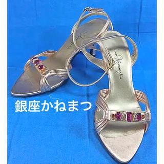 ギンザカネマツ(GINZA Kanematsu)の美品 銀座かねまつ ミュール サンダル(サンダル)