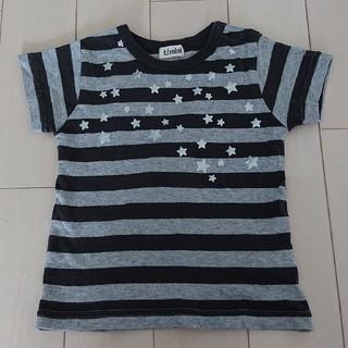 ターカーミニ(t/mini)のt/mini ボーダー 半袖 Tシャツ 95cm(Tシャツ/カットソー)