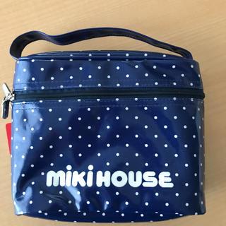 ミキハウス(mikihouse)の新品 MIKI HOUSE ポーチ(ベビーおむつバッグ)