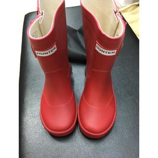 ハンター(HUNTER)のハンター 長靴 14センチ 赤(長靴/レインシューズ)
