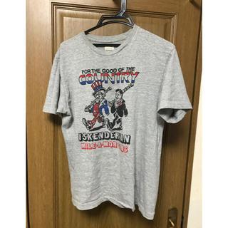 ダブルワークス(DUBBLE WORKS)のダブルワークス  L tシャツ  旧ロゴ グレー(Tシャツ/カットソー(半袖/袖なし))