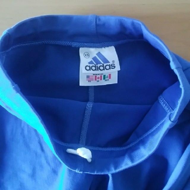adidas(アディダス)のXS(130㎝くらい)ストレッチパンツ キッズ/ベビー/マタニティのキッズ服 女の子用(90cm~)(パンツ/スパッツ)の商品写真