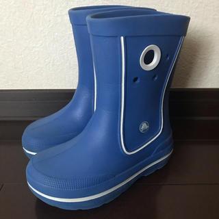 crocs - クロックス 長靴 レインブーツ 12 13 18.5cm ブルー