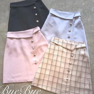 バイバイ(ByeBye)のByeBye スカート 黒(ミニスカート)