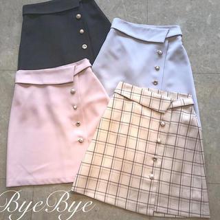 ByeBye - ByeBye スカート ピンク
