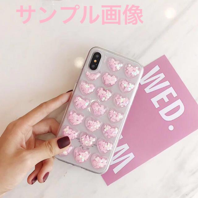 アイフォンXR iPhoneXRソフトケース☆ピンク☆ハート☆送料無料の通販 by ロゴ's shop|ラクマ