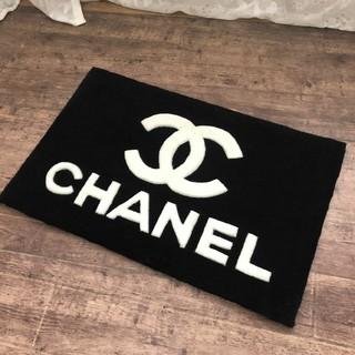 シャネル(CHANEL)のCHANEL シャネル  ノベルティ 玄関マット  カーペット(玄関マット)