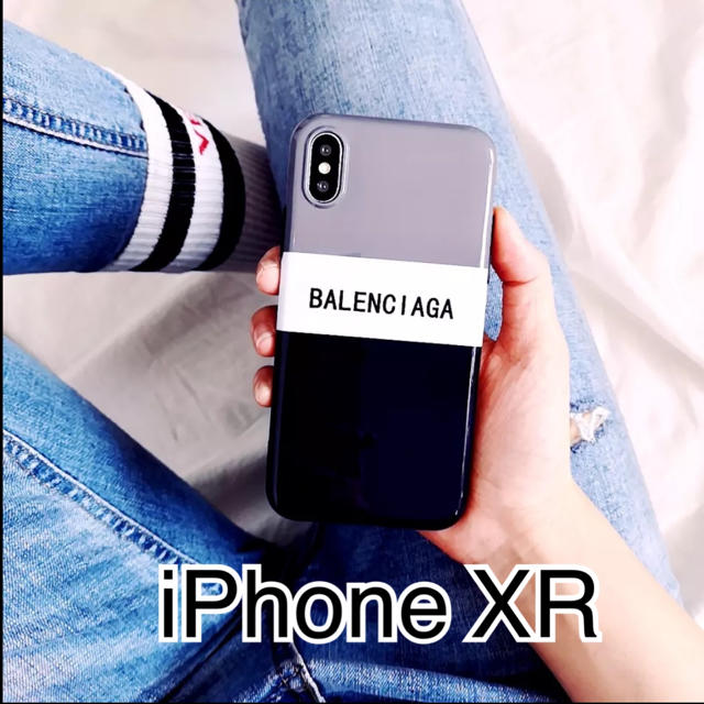 ハシバミ iphone x ケース / Balenciaga - 新品未使用 iPhone XRケースの通販 by coco♡'s shop|バレンシアガならラクマ