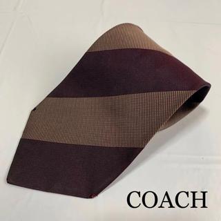 c48644b08acf コーチ(COACH)のCOACH コーチ ネクタイ レジメンタル ジャガード織 32(ネクタイ)