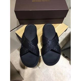 ボッテガヴェネタ(Bottega Veneta)のBOTTEGA VENETA ボッテガヴェネタ  靴/シューズ サンダル 42(サンダル)