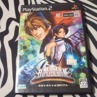 プレイステーション2(PlayStation2)のネオジオバトルコロシアム オンライン プレイステーション2(家庭用ゲームソフト)