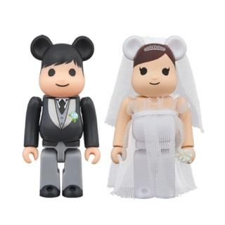 MEDICOM TOY - ベアブリック BE@RBRICK 結婚 3 100% メディコムトイ プラス