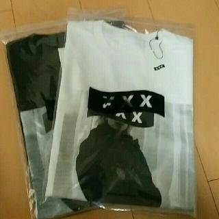 ジィヒステリックトリプルエックス(Thee Hysteric XXX)の希少 新作 ゴッドセレクションXXX ホワイトL(Tシャツ/カットソー(半袖/袖なし))