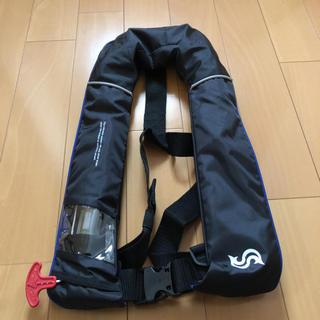 【新品未使用】ブルーストーム 水感知機能付 膨脹式ライフジャケット(ウエア)