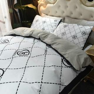 シャネル(CHANEL)の2019夏CHAN*EL ベッドセット 4点セット 寝具 シーツ ふとんカバー(布団)