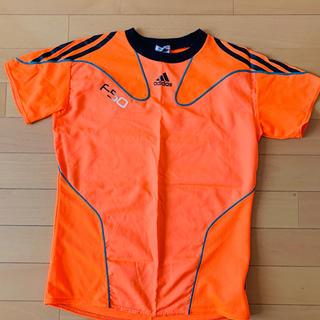 アディダス(adidas)のアディダス プラシャツ  オレンジ150(ウェア)