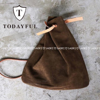 8c78d384368d トゥデイフル(TODAYFUL)のTODAYFUL【未使用品】Color Suede Bag☆. ショルダーバッグ