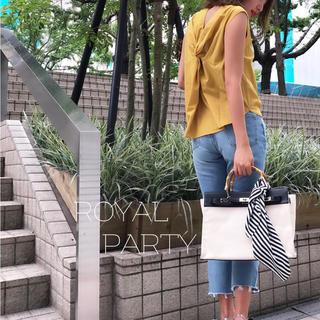 ロイヤルパーティー(ROYAL PARTY)のROYALPARTY♡ノースリブラウス マーキュリー エイミー ザラ スナイデル(カットソー(半袖/袖なし))