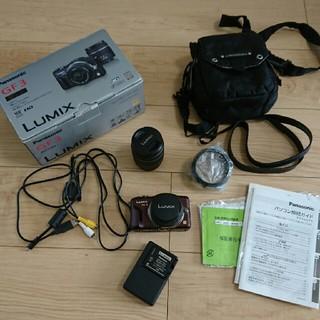 パナソニック(Panasonic)のPanasonicのDMC-GF3W 一眼レフ デジタル カメラ(デジタル一眼)