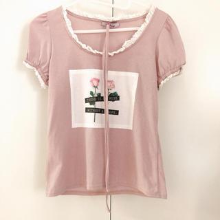 アンクルージュ(Ank Rouge)の【売約済み】フォトプリントカットソー(Tシャツ/カットソー(半袖/袖なし))