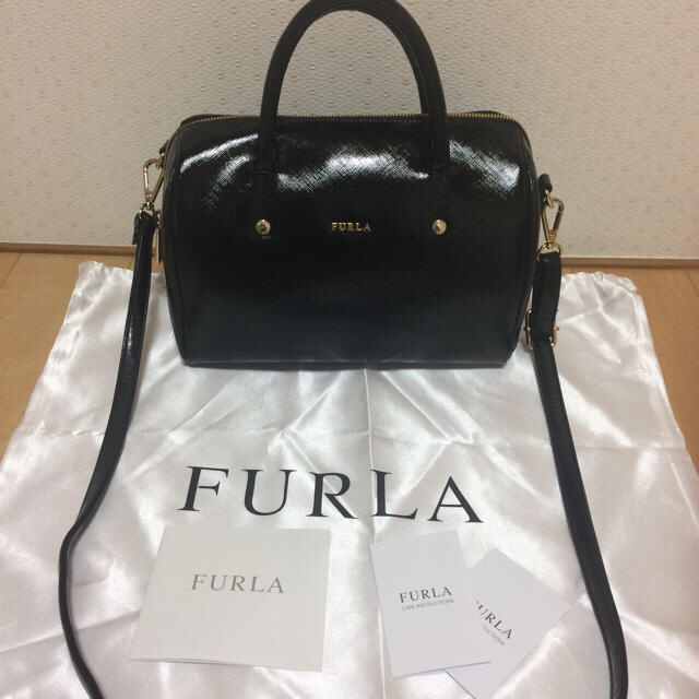 176033d842cb Furla(フルラ)の美品 フルラ アリッサ ショルダーバッグ 2WAYバッグ レディースのバッグ